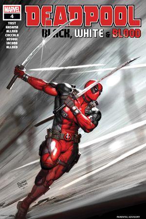 Deadpool: Black, White & Blood #4