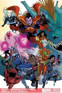 Official Handbook of the Marvel Universe A to Z Update #1