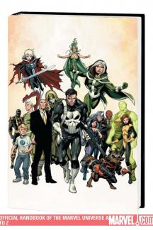 Official Handbook of the Marvel Universe a to Z Vol. 11 (Hardcover)