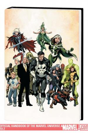 Official Handbook of the Marvel Universe a to Z Vol. 11 (2009 - Present)