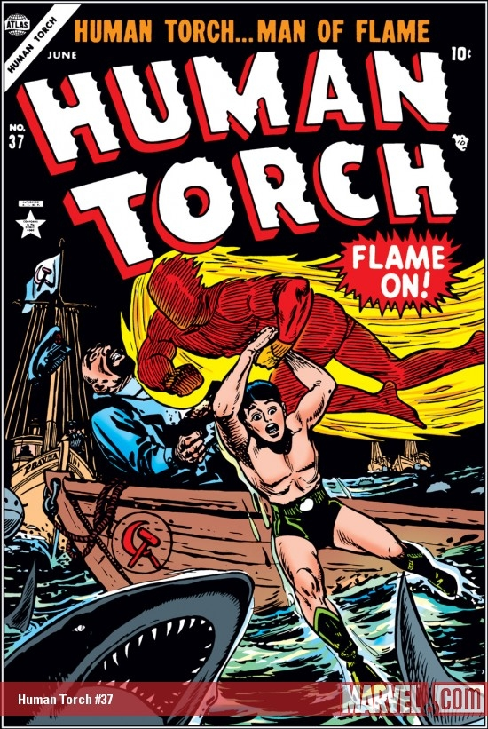 Human Torch Comics (1940) #37
