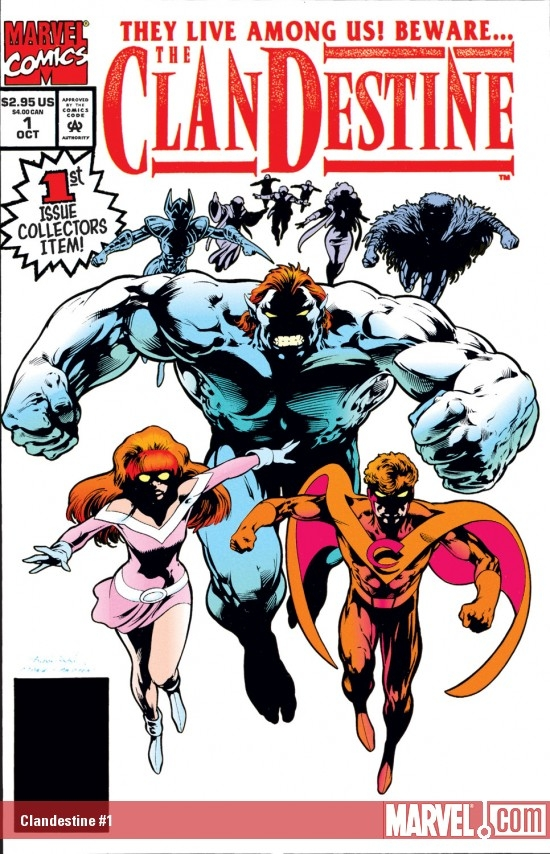 Clandestine (1994) #1