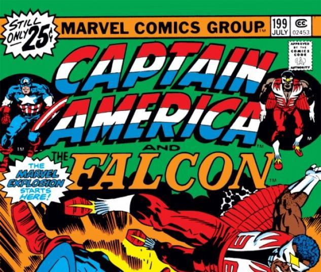 CAPTAIN AMERICA #199 COVER