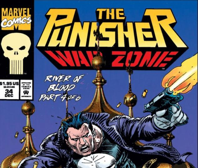 THE PUNISHER: WAR ZONE #34