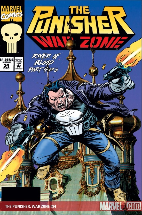 The Punisher War Zone (1992) #34