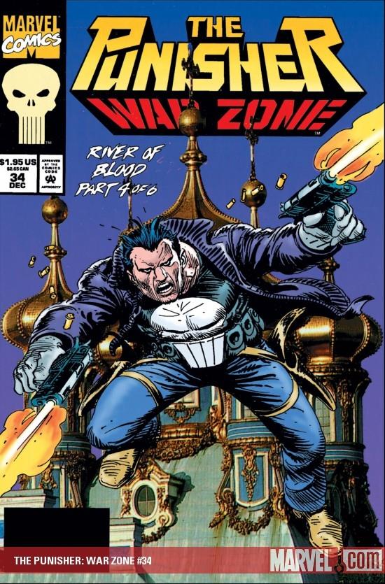 The Punisher War Zone (1992) #34