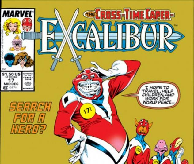 EXCALIBUR (2009) #17 COVER