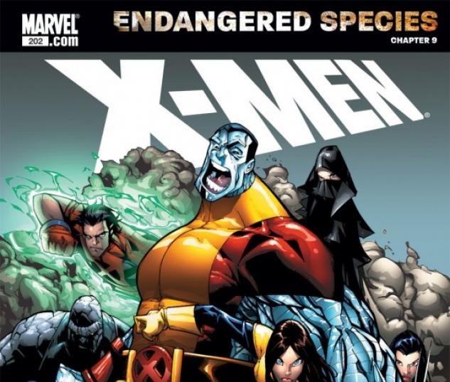 X-MEN: ENDANGERED SPECIES BACK-UP STORY #9