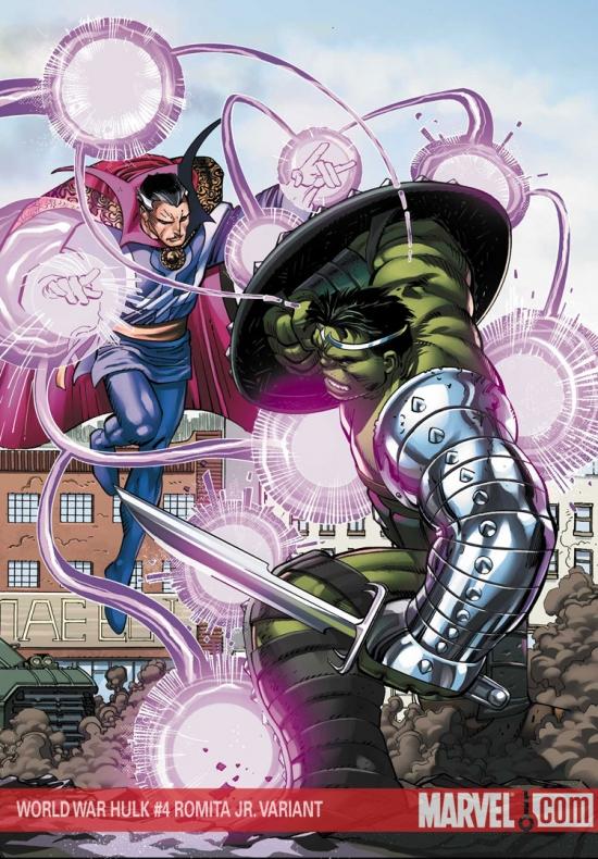 World War Hulk (2007) #4 (Romita Variant)