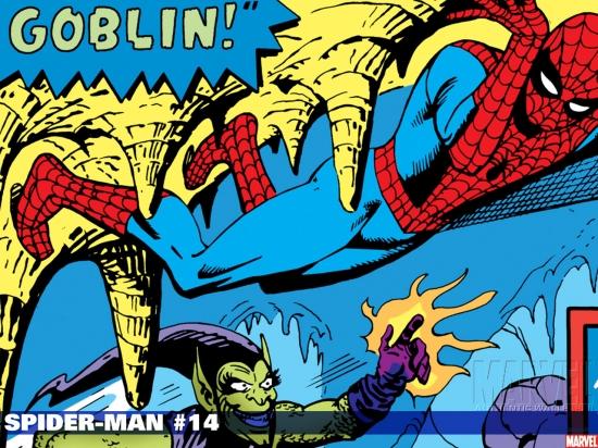 Spider-Man (1990) #14 Wallpaper