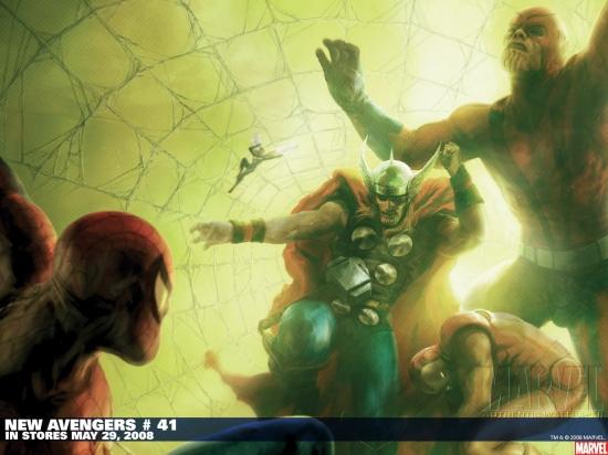 New Avengers (2004) #41 Wallpaper