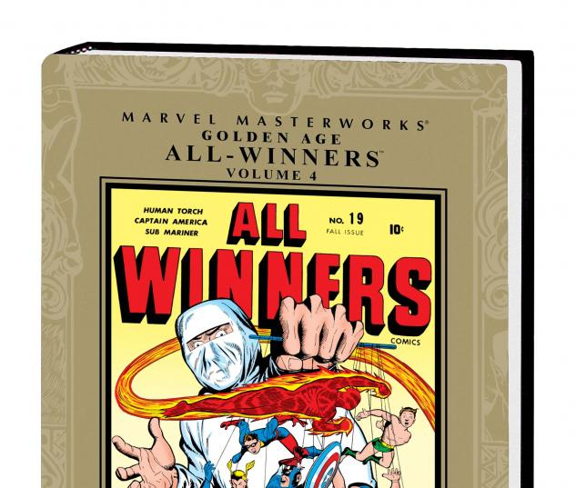 Marvel Masterworks: Golden Age All-Winners Vol. 4 (2011) #1
