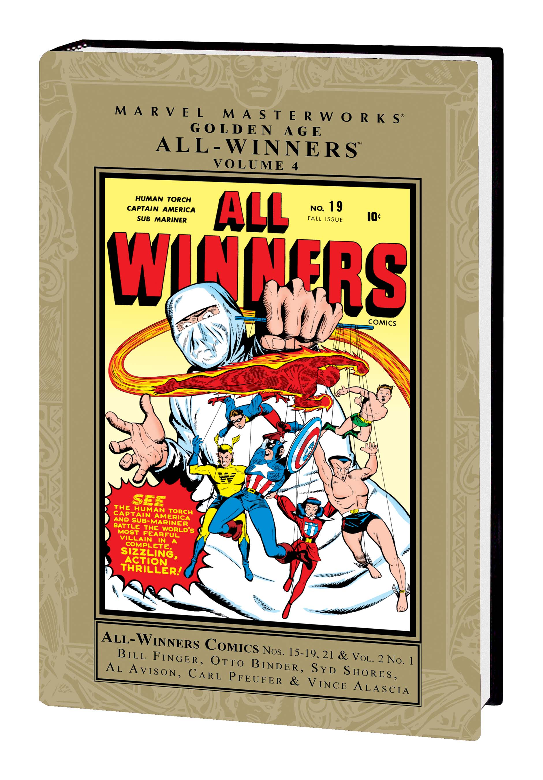 Marvel Masterworks: Golden Age All-Winners Vol. 4 (Hardcover)