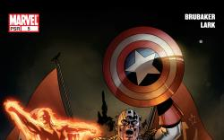 Cover: Captain America (2004) #5 of 8 - Out of Time