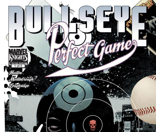 Bullseye: Perfect Game (2010) #1 Cover