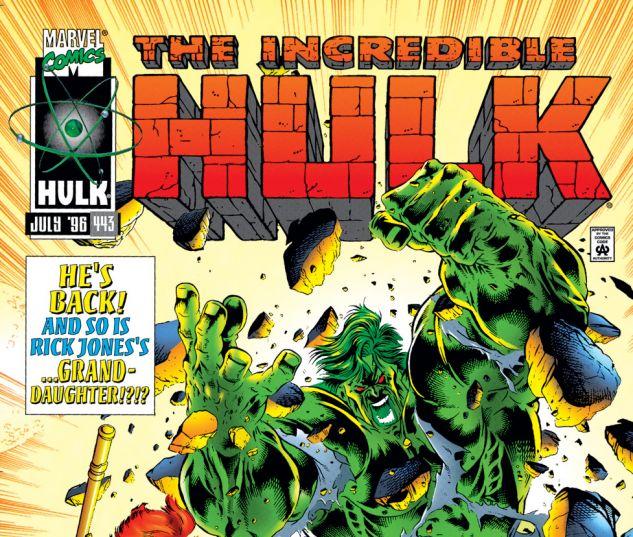 Incredible Hulk (1962) #443 Cover