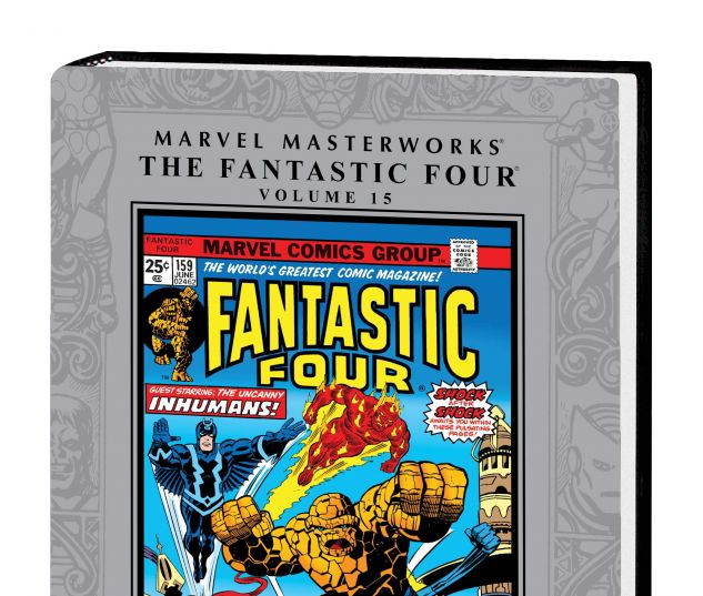 MARVEL MASTERWORKS: THE FANTASTIC FOUR VOL. 15 HC