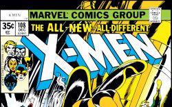 Uncanny X-Men (1963) #108 Cover