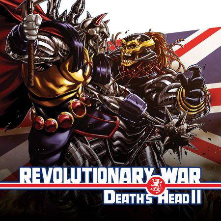 REVOLUTIONARY WAR: DEATH'S HEAD II 1 SHARP VARIANT (2014 - Present)