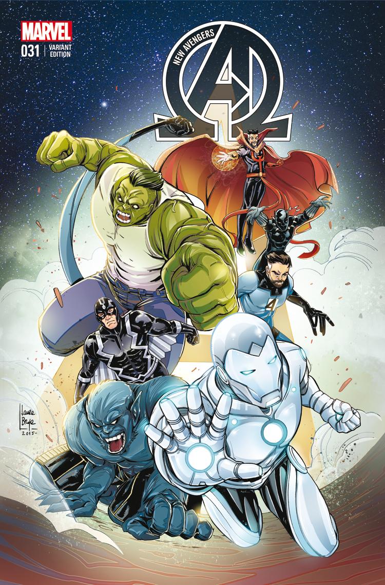 New Avengers (2013) #31 (Braga Wom Variant)