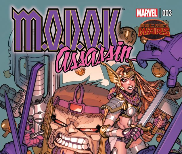 M.O.D.O.K. ASSASSIN 3 (SW, WITH DIGITAL CODE)