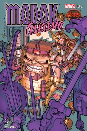 M.O.D.O.K. Assassin (2015) #3
