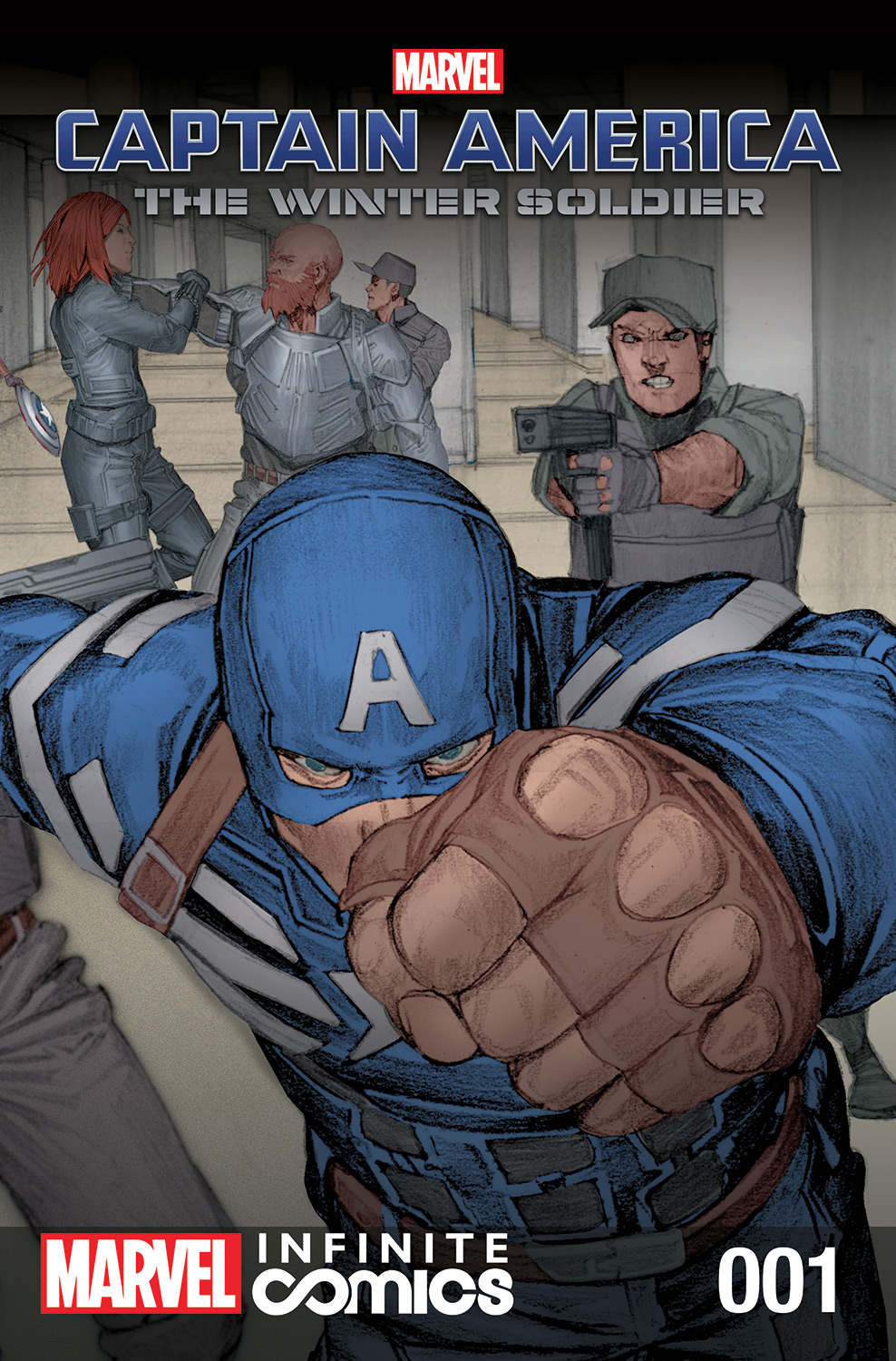 Marvel's Captain America: The Winter Soldier Prelude (2013) #1