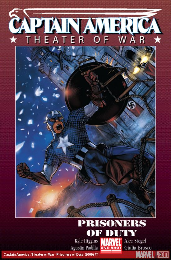 Captain America: Theater of War: Prisoners of Duty (2009) #1