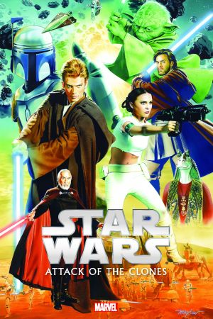 Star Wars: Episode II - Attack of The Clones (Hardcover)
