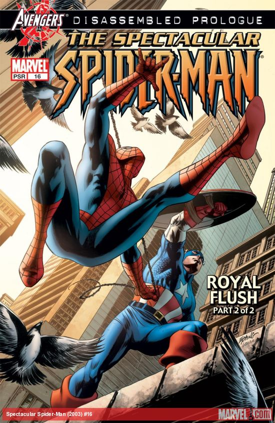 Spectacular Spider-Man (2003) #16
