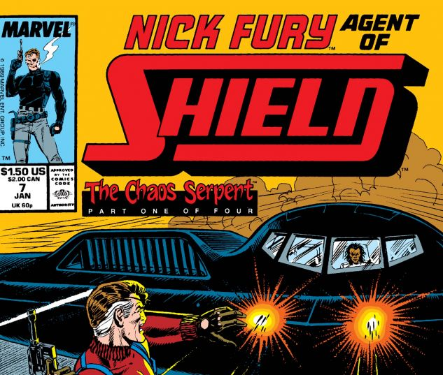 Nick Fury, Agent of Shield (1989) #7