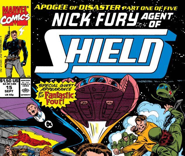 Nick Fury, Agent of Shield (1989) #15