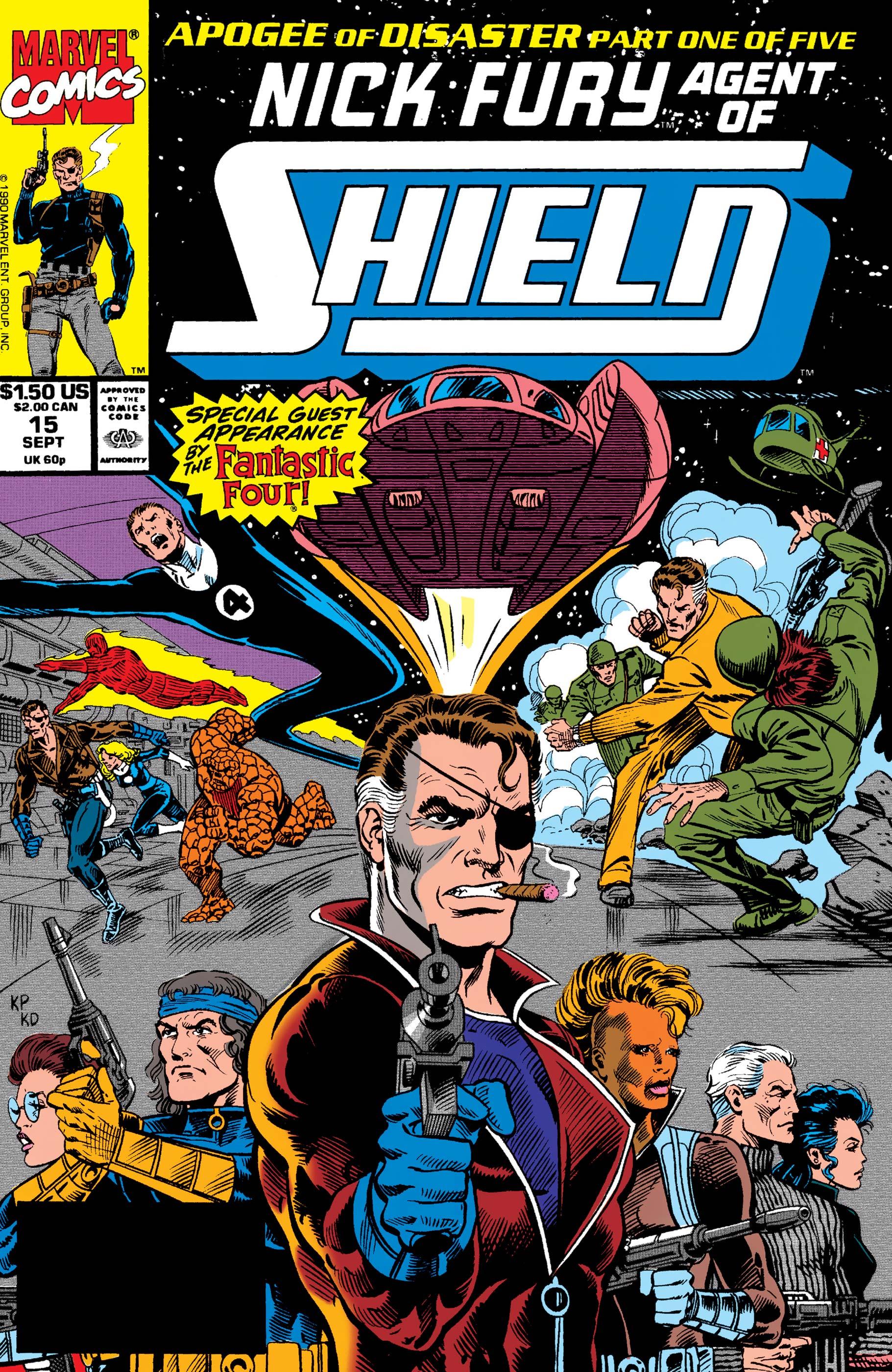 Nick Fury, Agent of S.H.I.E.L.D. (1989) #15