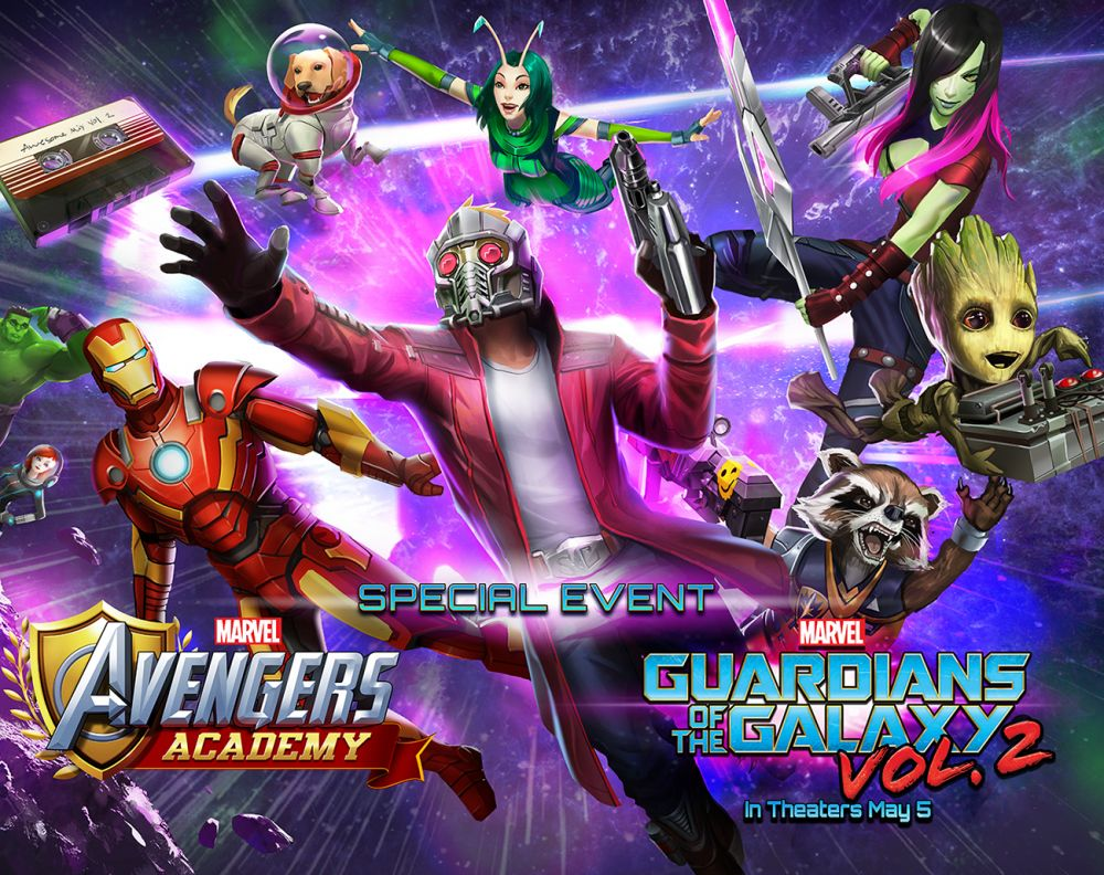 The Guardians of the Galaxy Return