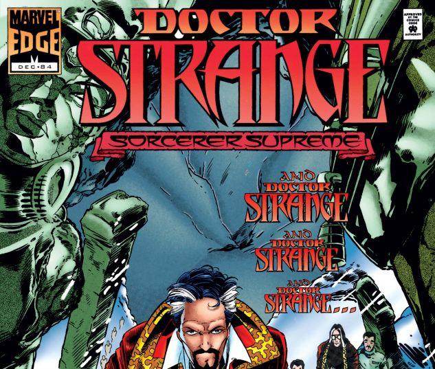 Doctor Strange, Sorcerer Supreme 84 cover