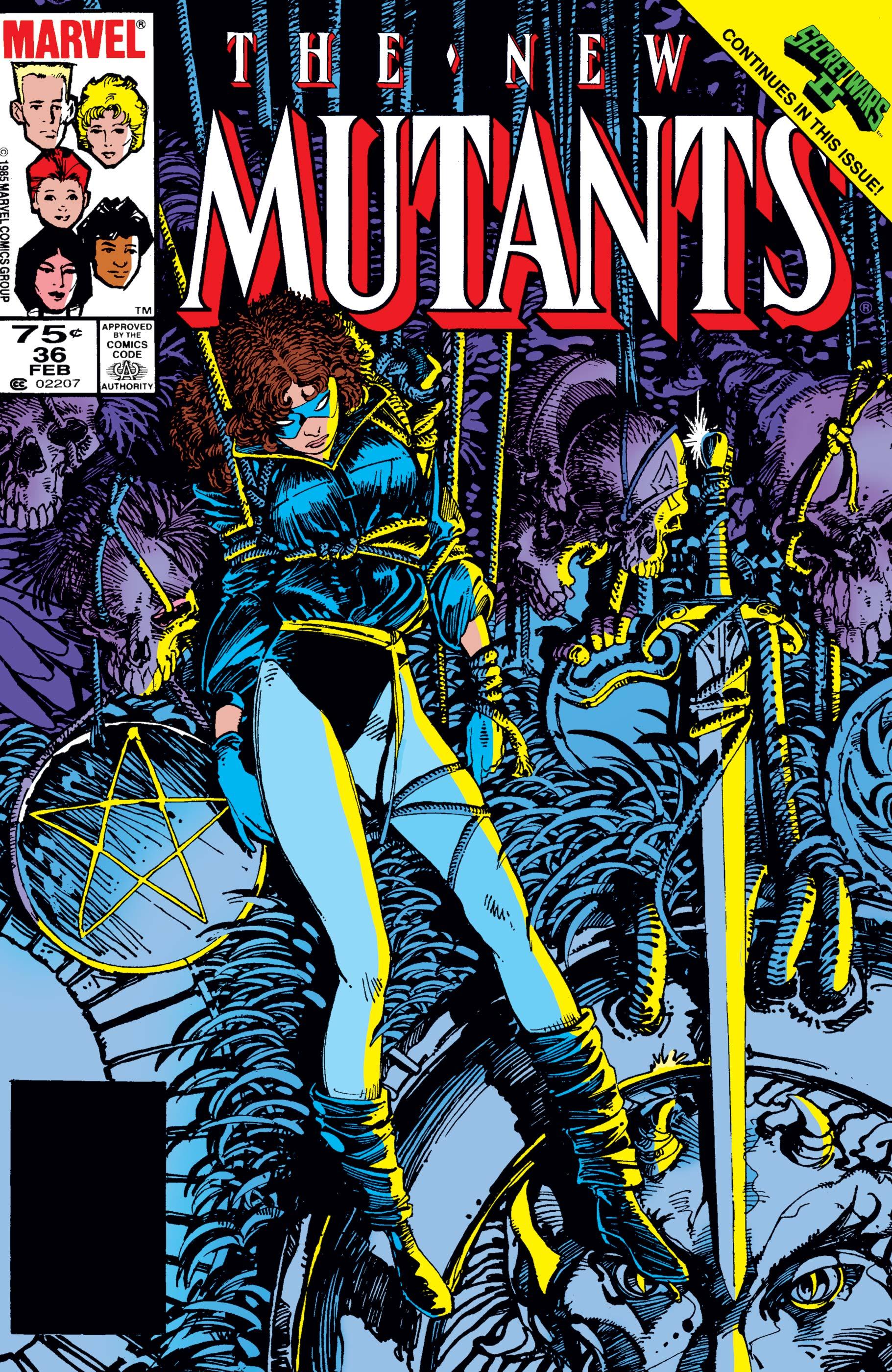 New Mutants (1983) #36