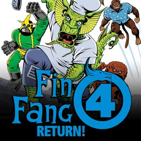 Fin Fang Four Digital Comic (2008 - 2009)