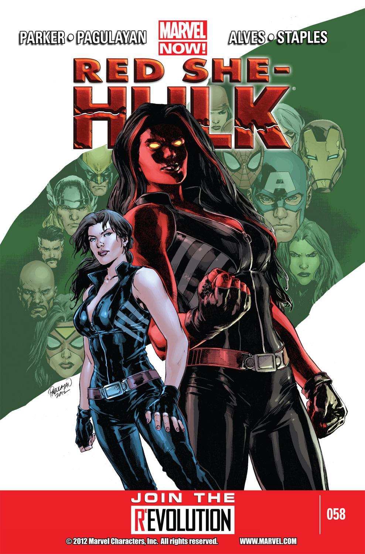 Red She-Hulk (2012) #58