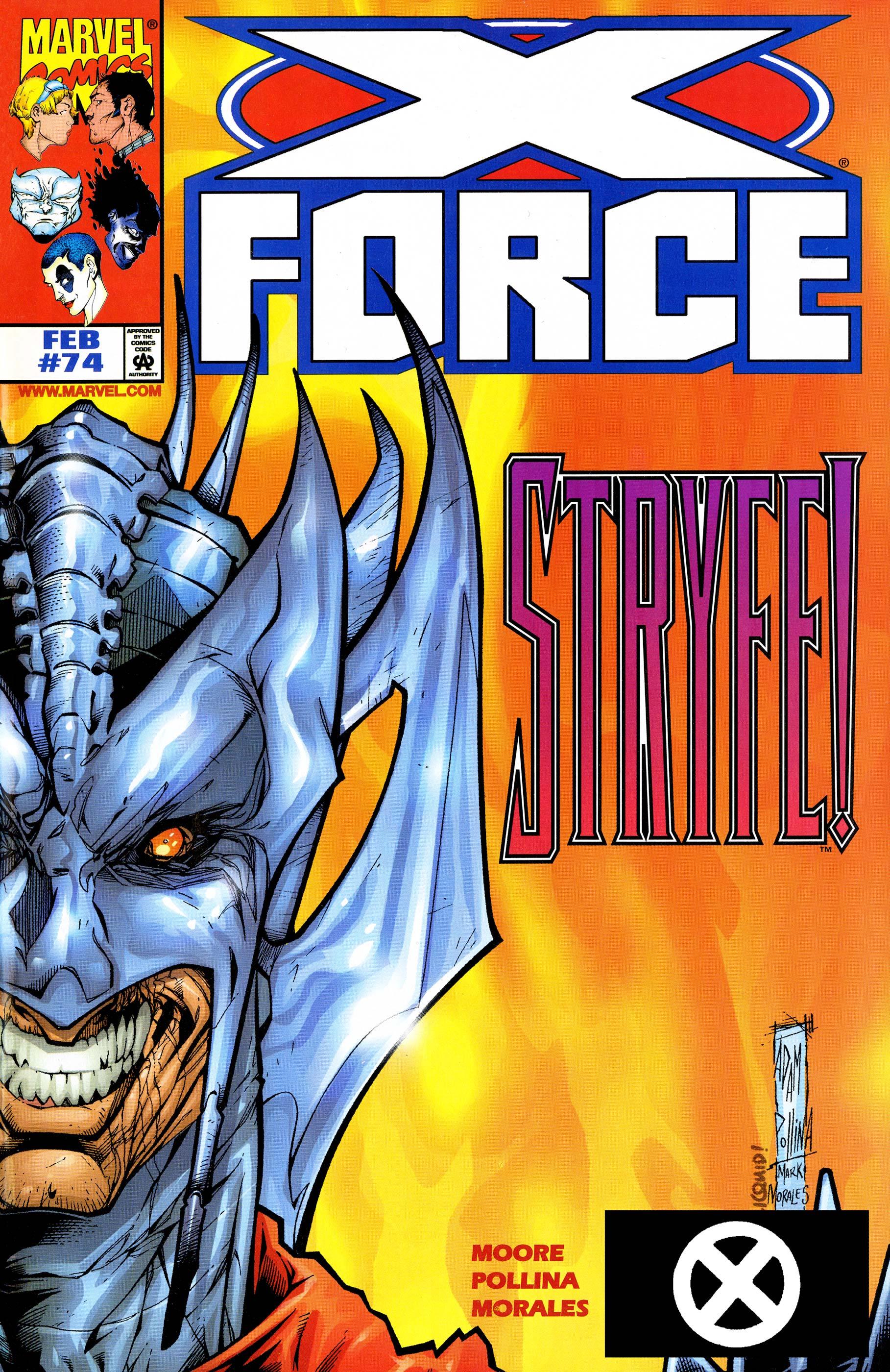 X-Force (1991) #74