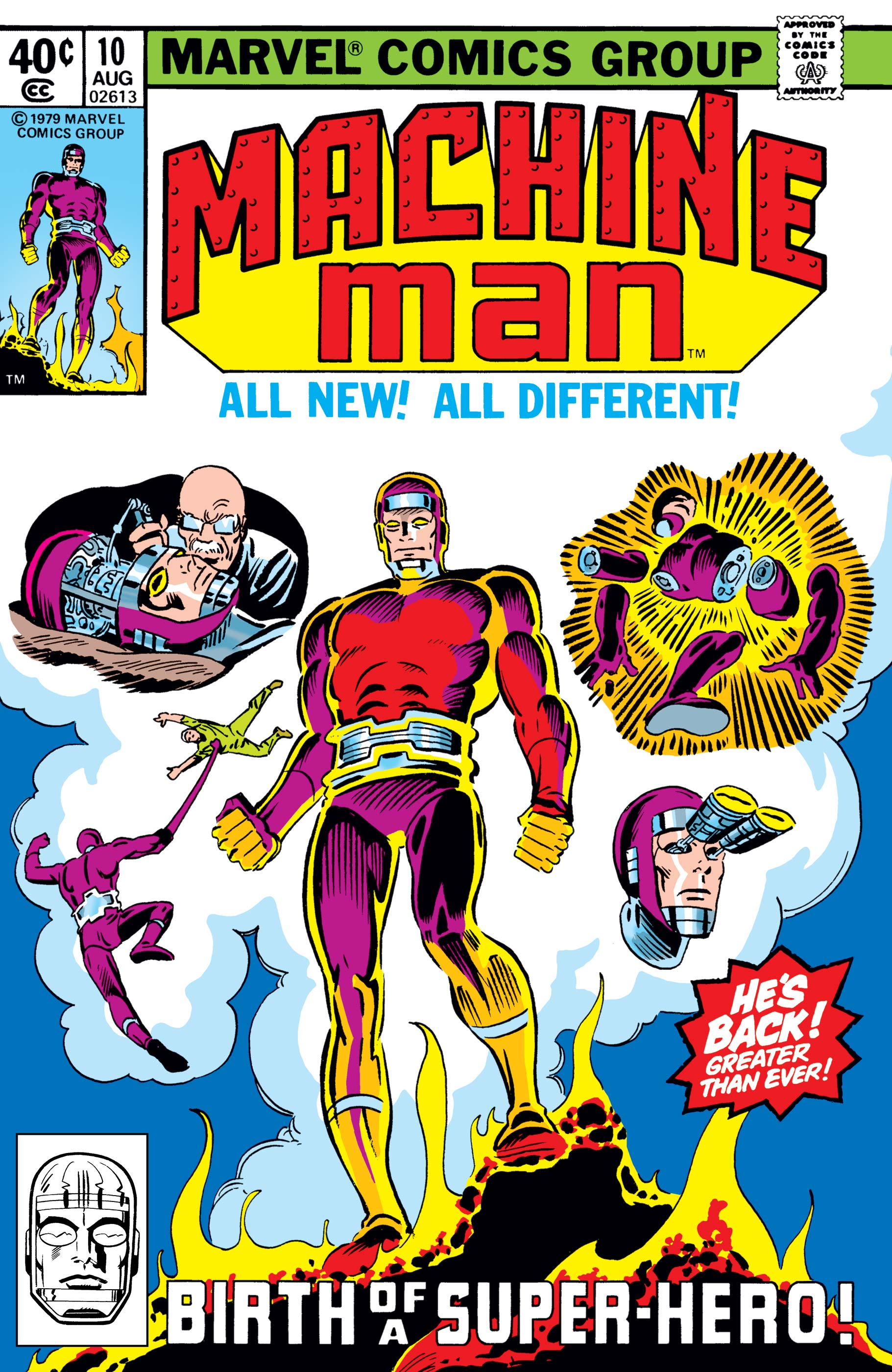 Machine Man (1978) #10