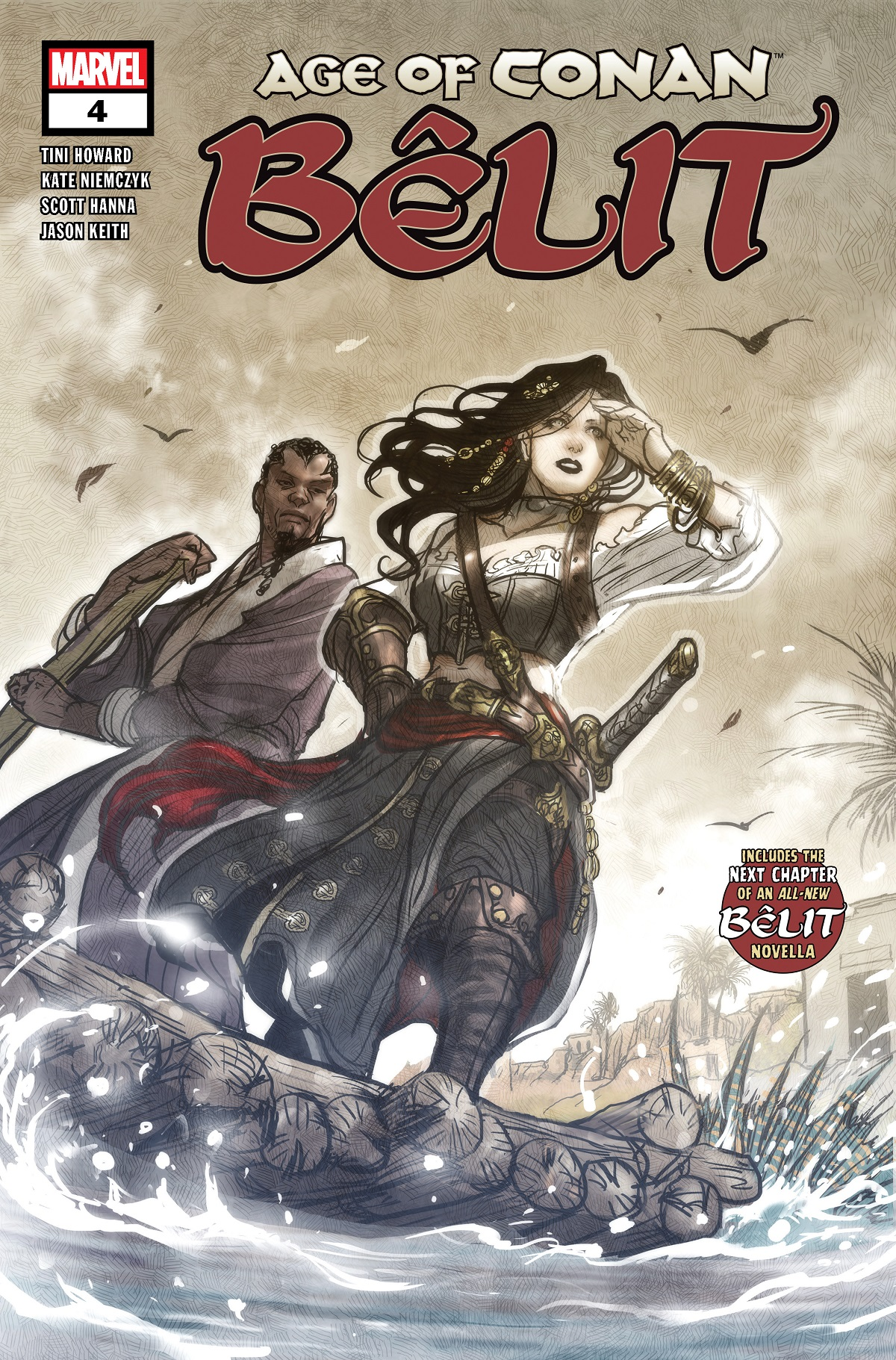 Age of Conan: Belit (2019) #4