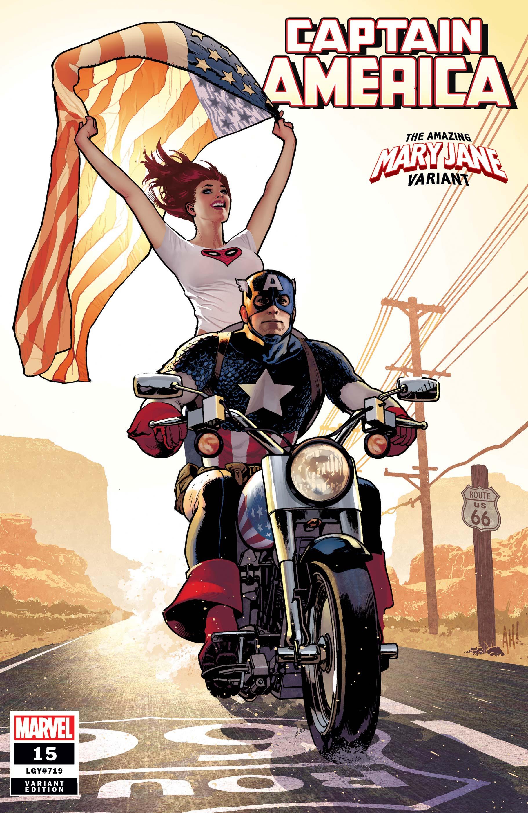 Captain America (2018) #15 (Variant)