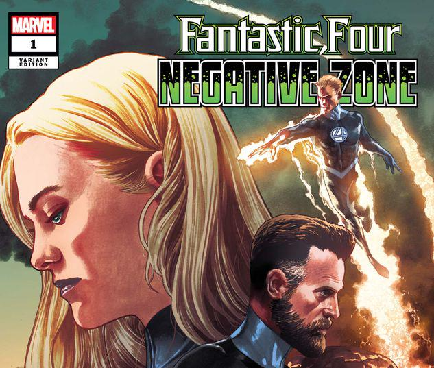 FANTASTIC FOUR: NEGATIVE ZONE 1 SUAYAN VARIANT #1