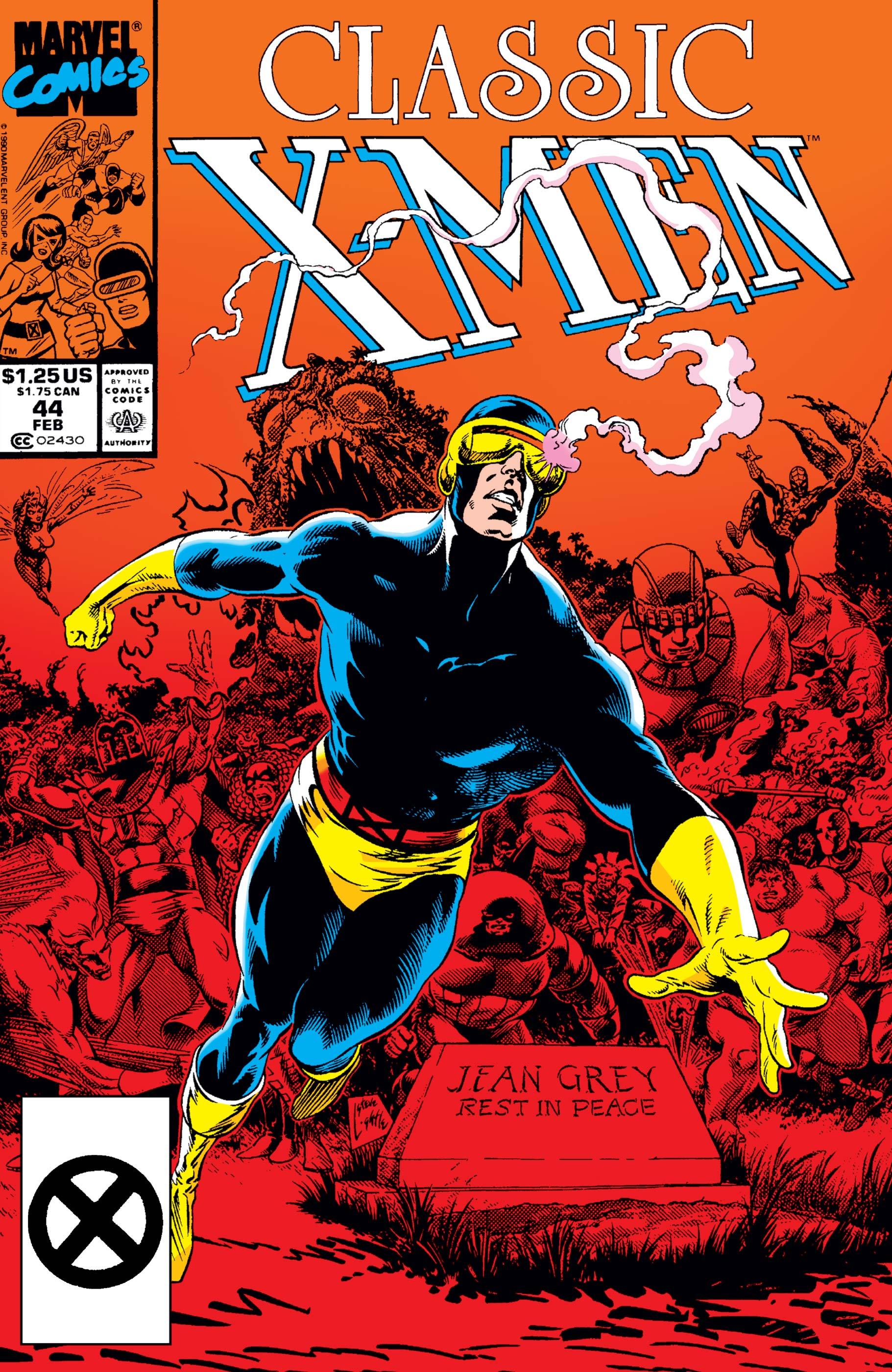 Classic X-Men (1986) #44