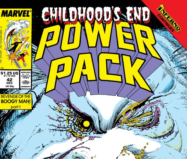 POWER PACK (1984) #42