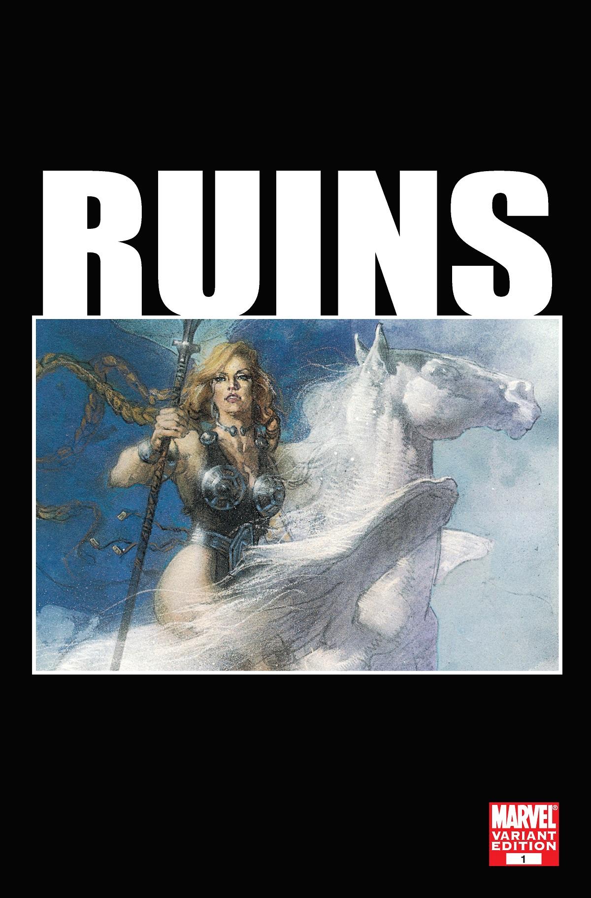 Ruins (2009) #1 (Variant)