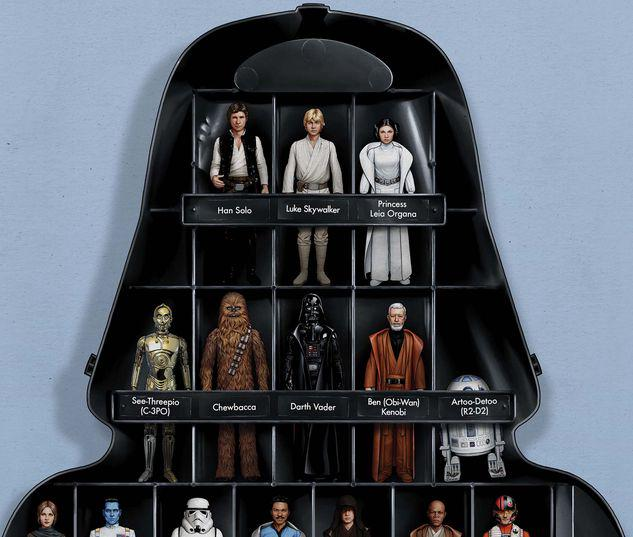 STAR WARS: THE ACTION FIGURE VARIANT COVERS 1 CHRISTOPHER VARIANT #1