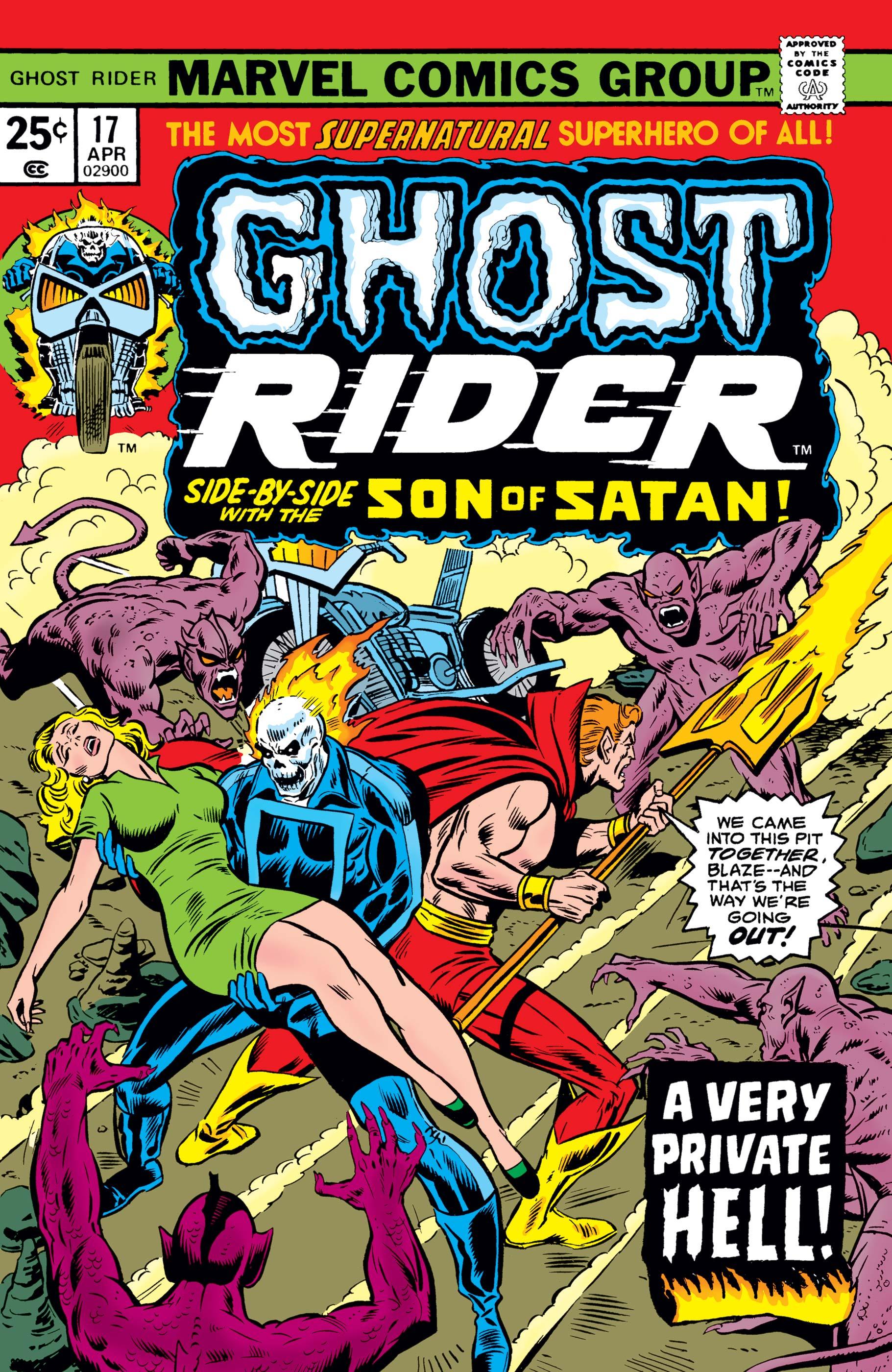 Ghost Rider (1973) #17