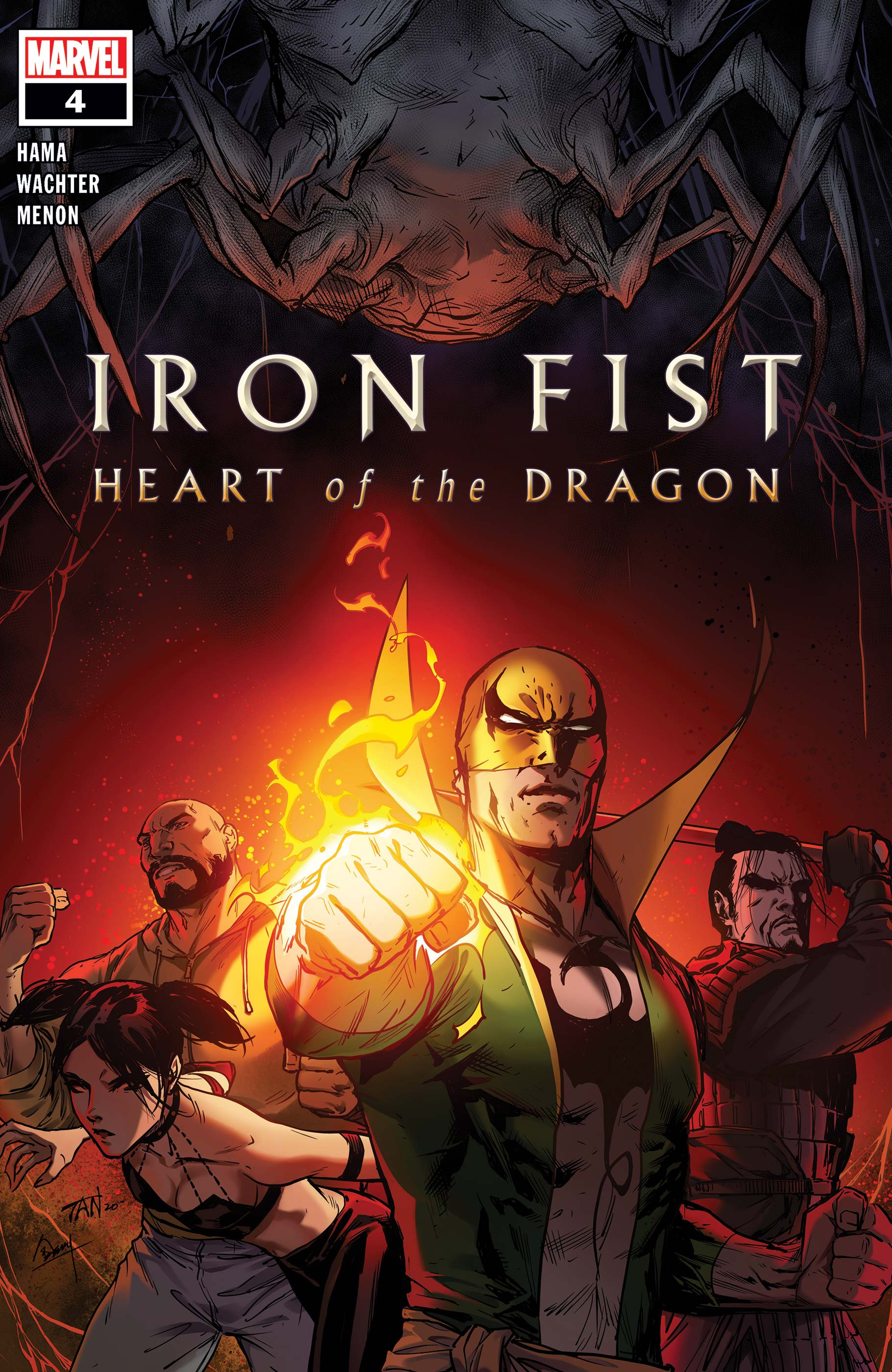 Iron Fist: Heart of the Dragon (2021) #4