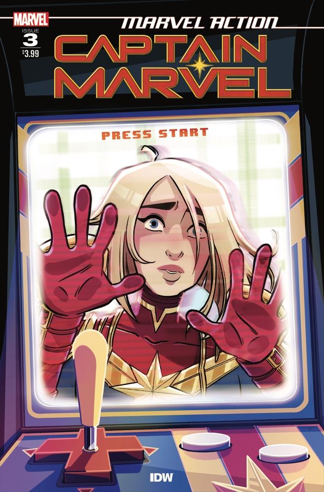 Marvel Action Captain Marvel (2021) #3